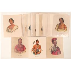 Native American Portraits & Scenes Reprints  102726