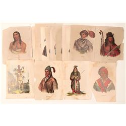 Native Americans Lithograph Reprints from Rice & Hart  102727