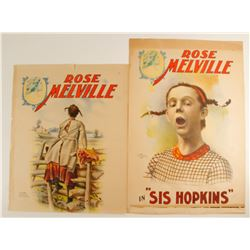 Rose Melville Lithographs (2)  78971