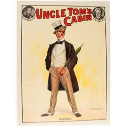 """Uncle Tom's Cabin """"MARKS"""" Lithograph  78973"""