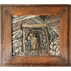 Underground MineOil Painting by Gardner  84828