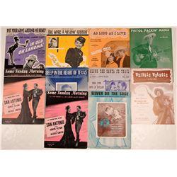 Cowboy Movie Sheet Music  108818