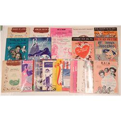 Disney Sheet Music Collection  108821