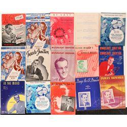 Glenn Miller Sheet Music Collection  108819