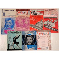 Judy Garland Song Folio Collection  108816
