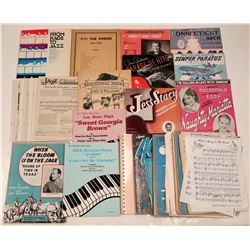 Sheet Music Collection  108605