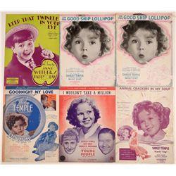 Shirley Temple Sheet Music  108817