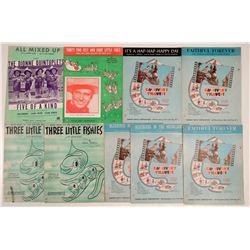 Vintage Childrens Sheet Music  108822