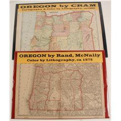 Maps of Oregon  72006