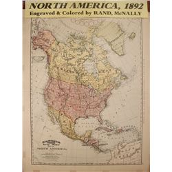 North America Map  58770