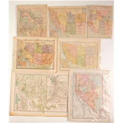 Western Maps (6)  89907
