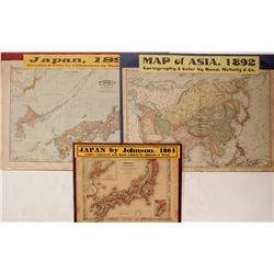 Japan and Asia Maps (3)  63217