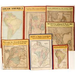 Mexico & South America Maps (7)  62066