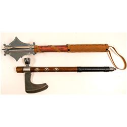 Mace Ax , & Ax /Opium Pipe Combination  105465