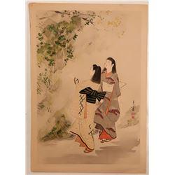 Japanese Print  109498