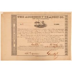 Accessory Transit Co of Nicaragua Bond  105624