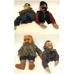 Four Political Puppets from Katherina Bekleshova, c1940's  56866