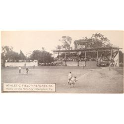 Unusual Baseball Post Card  105752