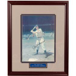 Signed 11 x 14 Joe DiMaggio Color  104562