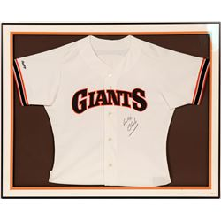 Signed Will Clark Jersey  104567