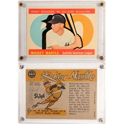 TOPPS '60 All Star Mickey Mantle Card  104082