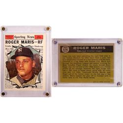 TOPPS Roger Maris Sporting News Card  104083