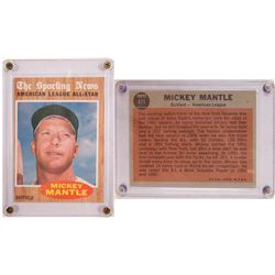 TOPPS The Sporting News- Mickey Mantle Card  104079