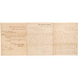 Interesting Post Civil War Letter Group  104530