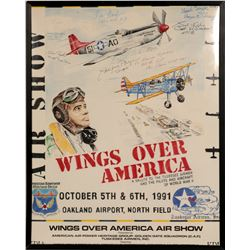 """""""Wings Over America"""" / The Tuskegee Airmen  109618"""