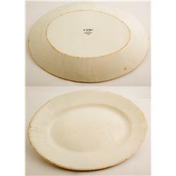 Vintage U.S.M.C. Platter  49001