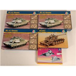 Italeri  (5 boxes of Toy Model Kits)  108549