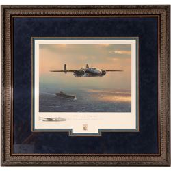 """""""I Could Never Be This Lucky Again"""" a signed print by artist WIlliam S. Phillips  108568"""
