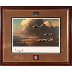 Aviation Print - Among the Columns of Thor by William. S. Phillips  108560