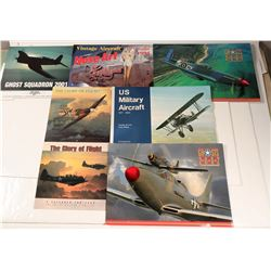 Collection of Aircraft Calendars  108995