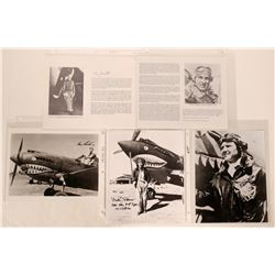 Flying Tigers American Volunteer Group Photographs, Biographies (5 Items)  108088