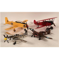Gas engine model planes  108961