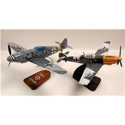German ME109's Model Airplanes (2)  108897