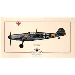 Gunther Rall BF 109 G2  108972