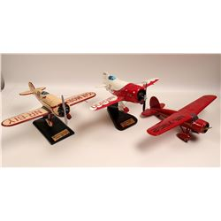 HIstorical Airplanes desk top models  108888