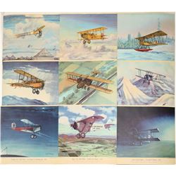 Historical Aviation Prints by Charles Hubbel  108964