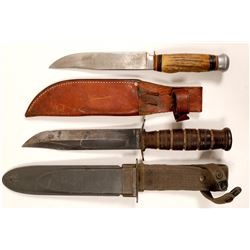 Knives with Sheaths  102752