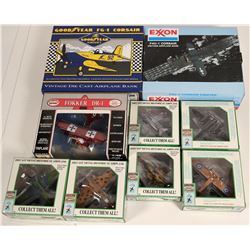 Military Die Cast Airplanes  108871