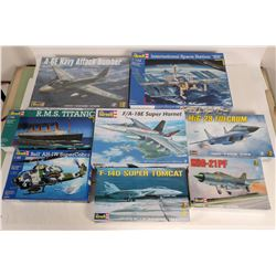Model Airplanes & Ships by Revell (8)  108514