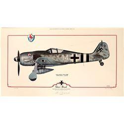 Oscar Bosch Focke-Wulf 190 by J. Crandall  108969