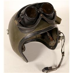 Tank Helmet & Goggles / With head Phone.  109694