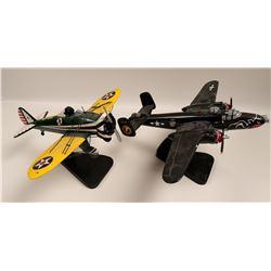 WW II desk model aircraft  108877