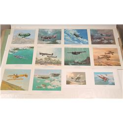 WWI and WWII aircraft Prints  108993