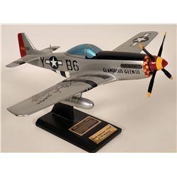 WWII Autographed airplanes.  108878