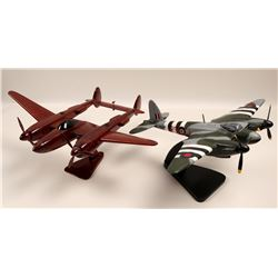 WWII P-38 Mahogany and DH-98  108879