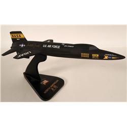 X-15 Dixie Aviation Model  Autographed  108872
